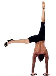 angelina's leg Photoshop, angelina's leg handstand, angelina asana