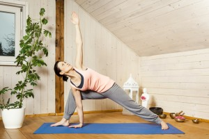 yoga in attic dreamstime